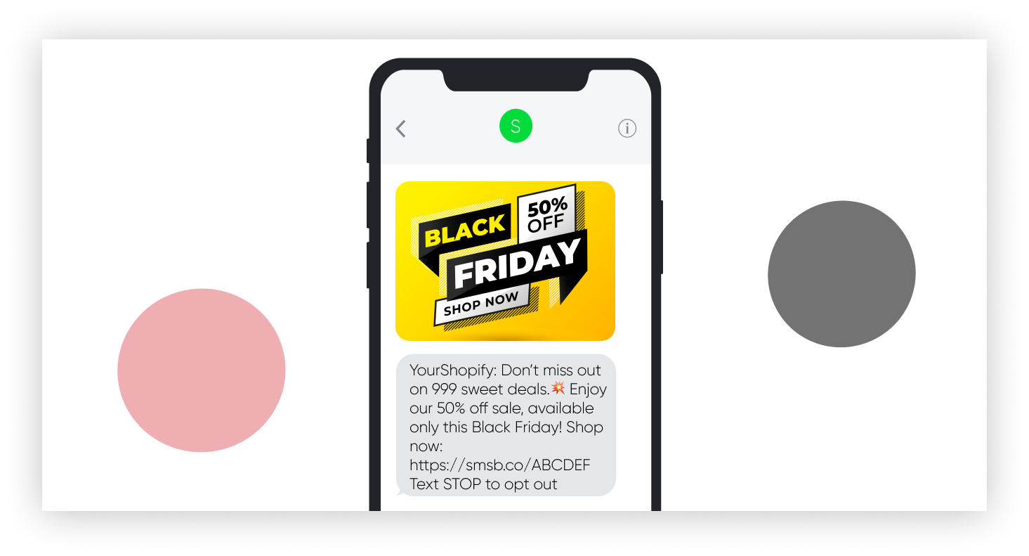 Kick Start Black Friday With Our Ready To Go Sms Templates Smsbump Blog