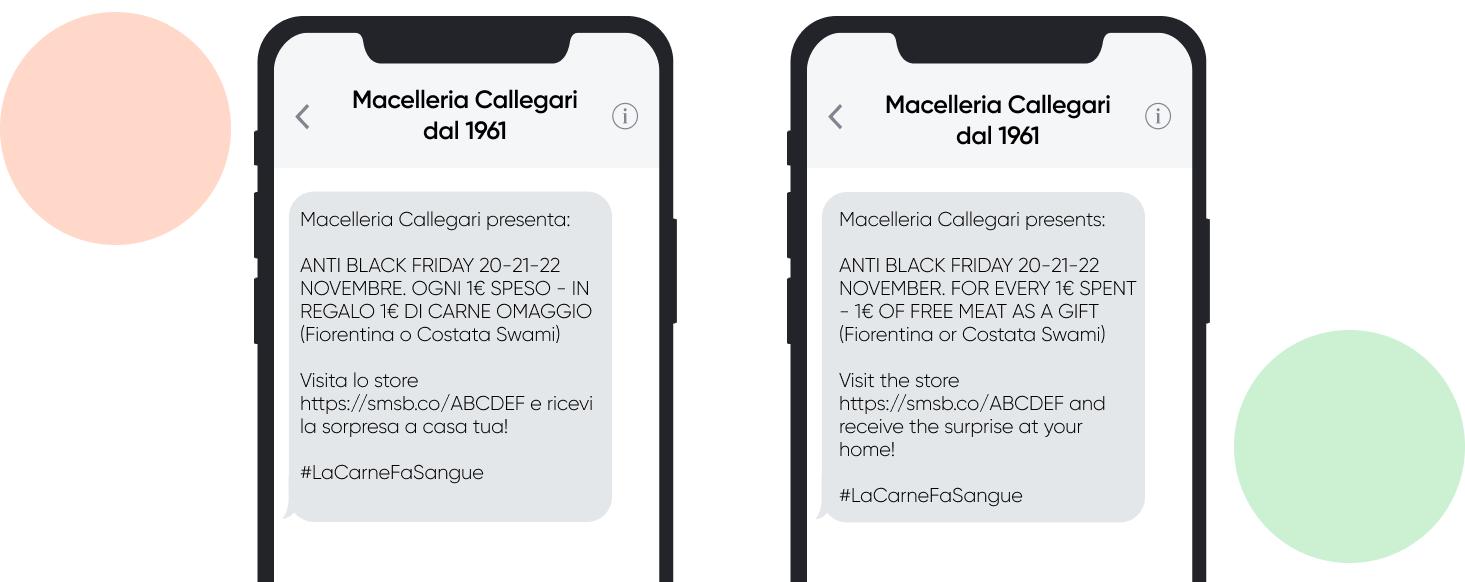 macelleria_callegari_Black_Friday_campaign_SMSBump