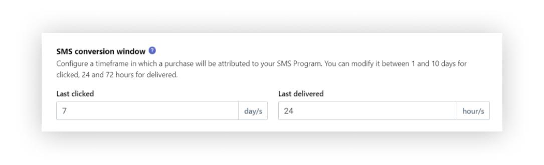 SMS Attribution
