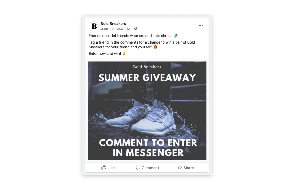 Recart_giveaway_Facebook_SMSBump