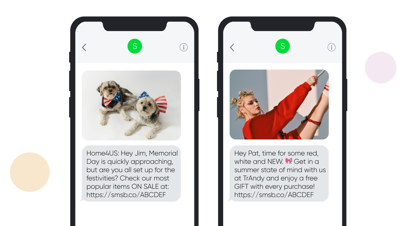Memorial Day SMS Templates