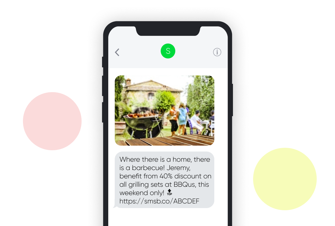Memorial Day SMS Template