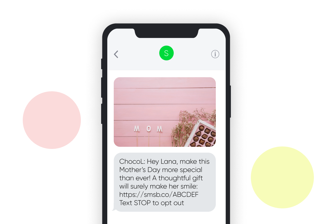 Mother's Day SMS Template