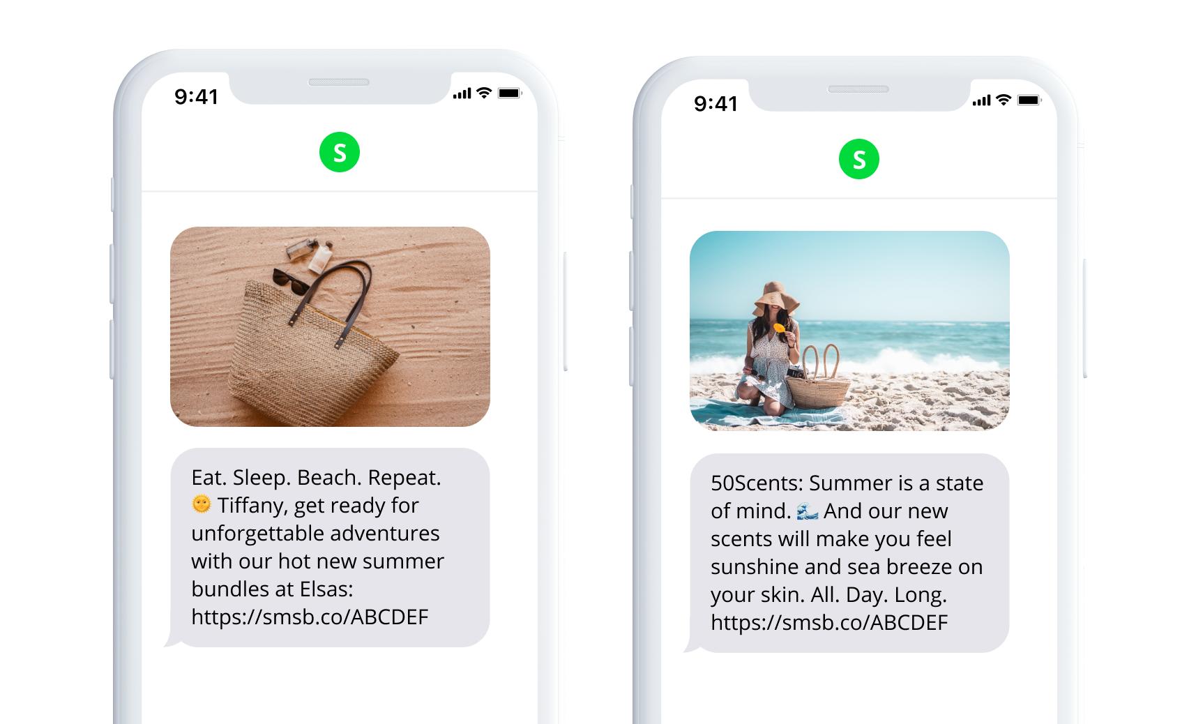 SMSBump Summer Templates