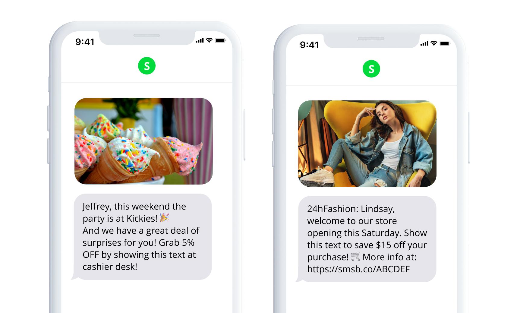 SMSBump SMS Templates