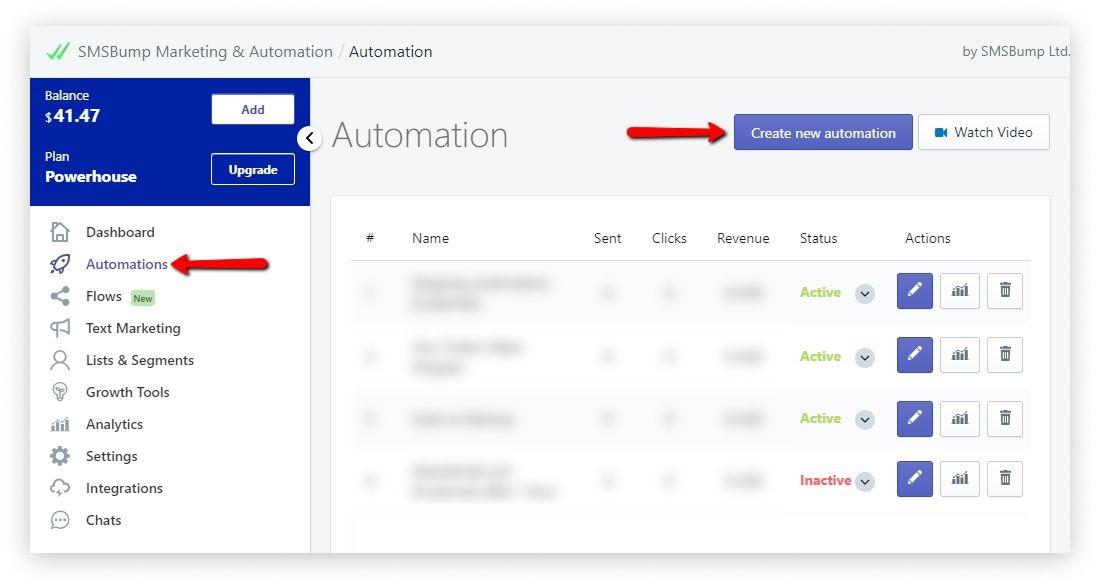 create_new_automation_SMSBump