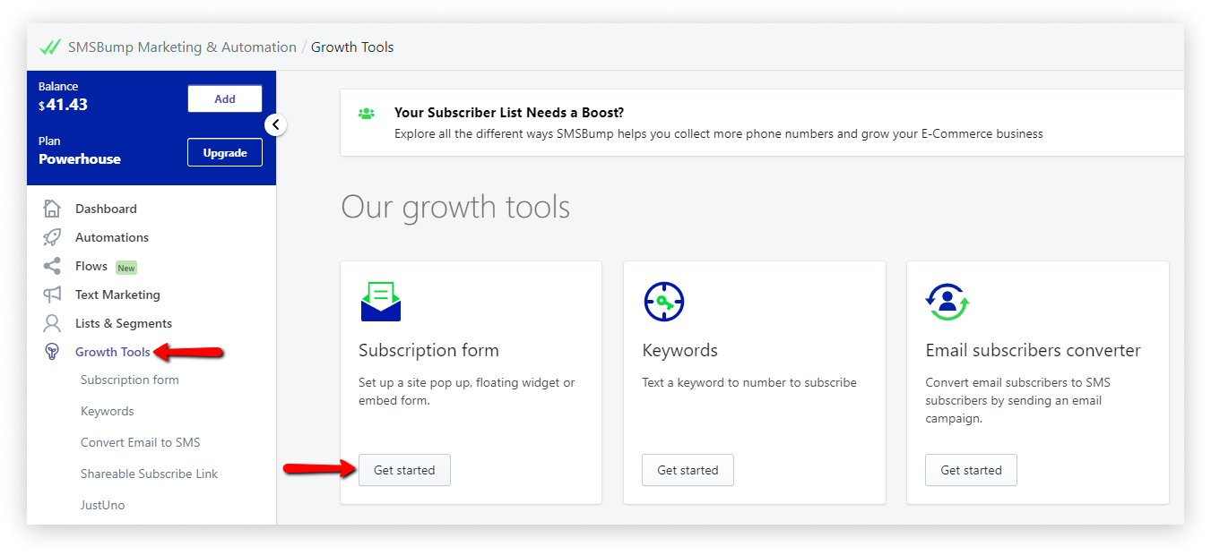 growth_tools_subscription_form_SMSBump