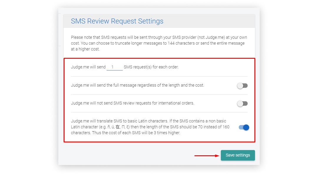judgeme_sms_settings_SMSBump