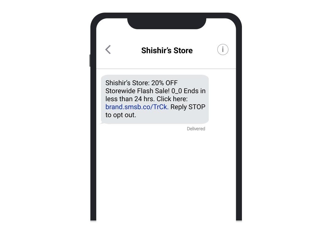 shishir_flash_sale_SMSBump