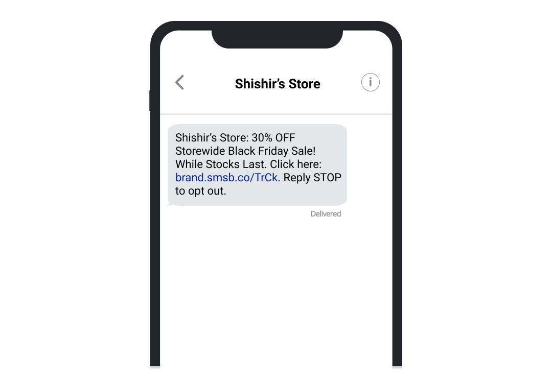 shishir_black_friday_blast_SMSBump