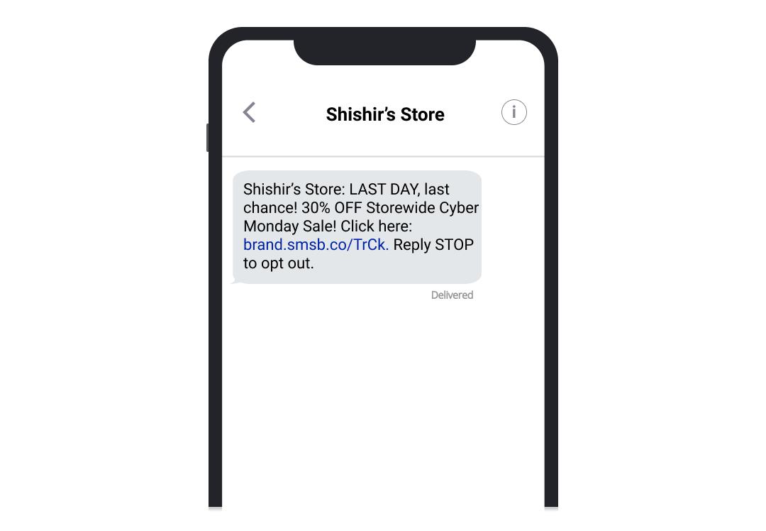 shishir_cyber_monday_last_chance_SMSBump